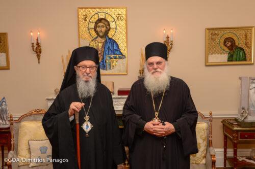 Ο Γέροντας Εφραίμ στον Αρχιεπίσκοπο Αμερικής Δημήτριο