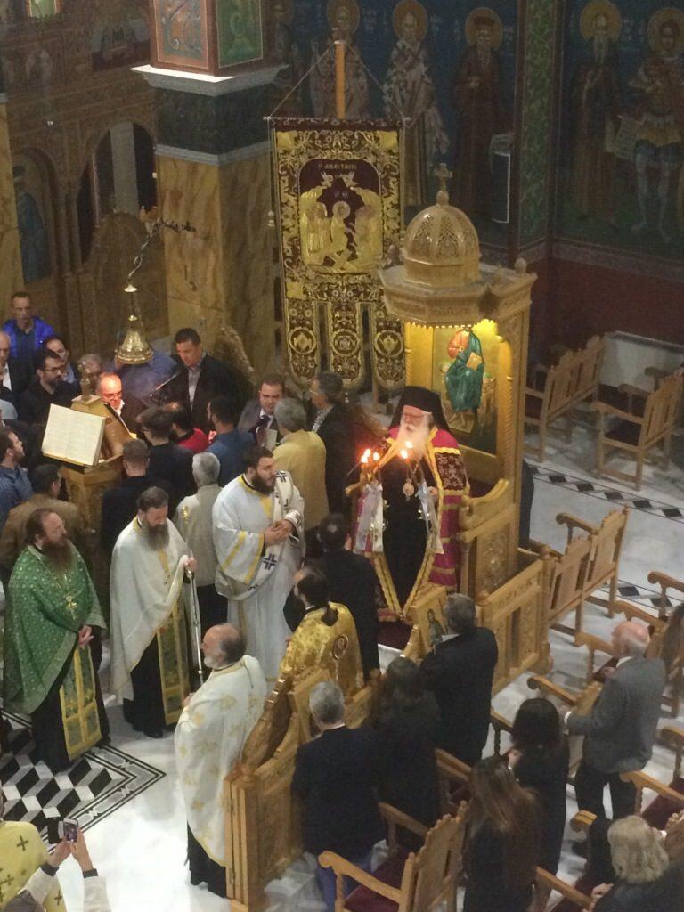 Οι Ιεροψάλτες της Δημητριάδος τίμησαν τον Προστάτη τους