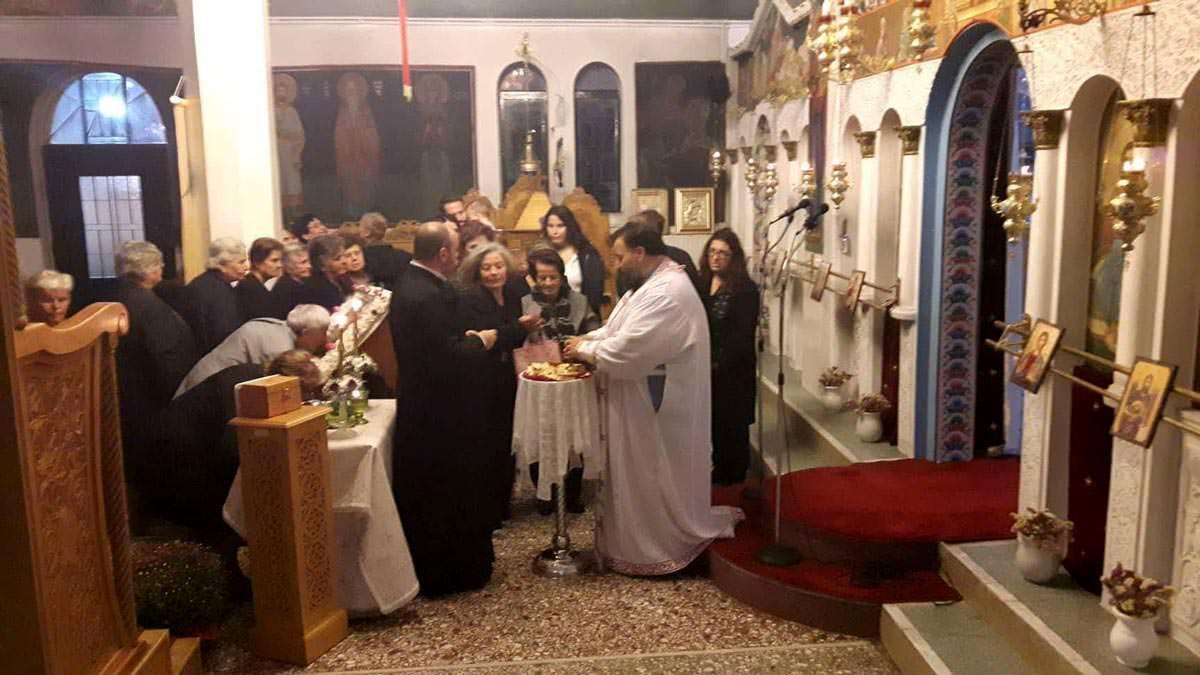 Τιμία Κάρα Αγίας Μαρίνης Θεολόγος Διρφύων