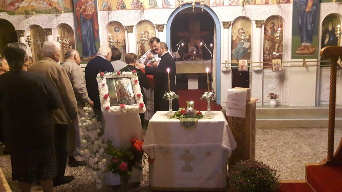 Τιμία Κάρα Αγίας Μαρίνας Θεολόγος Διρφύων