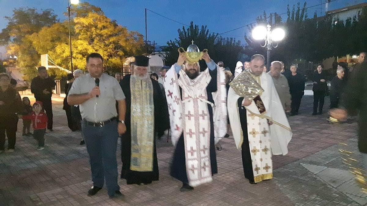 Υποδοχή Τιμίας Κάρας Αγίας Μαρίνης