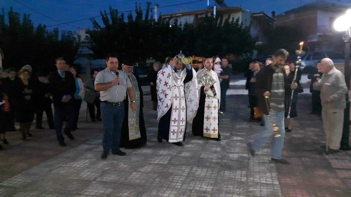 Υποδοχή Τιμίας Κάρας Αγίας Μαρίνας