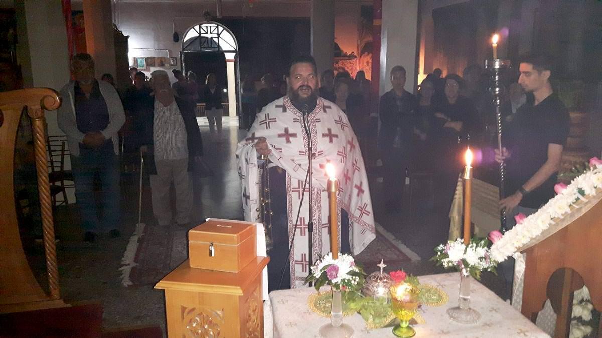 Λαμπρή Υποδοχή της Τιμίας Κάρας Αγίας Μαρίνας Θεολόγος Διρφύων