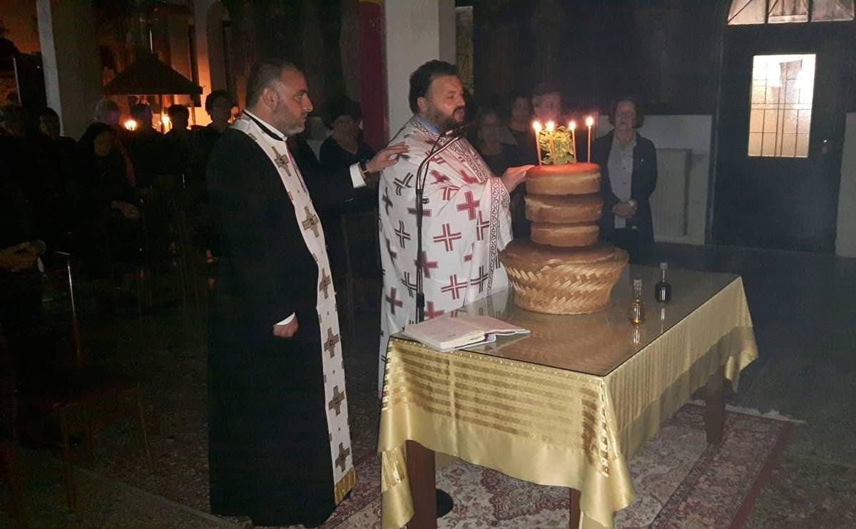 Λαμπρή Υποδοχή Τιμίας Κάρας Αγίας Μαρίνας Θεολόγος Διρφύων