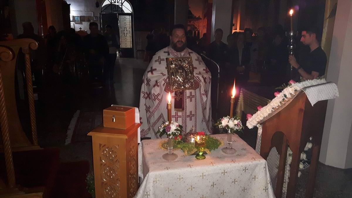 Υποδοχή Τιμίας Κάρας Αγίας Μαρίνης Θεολόγος Διρφύων