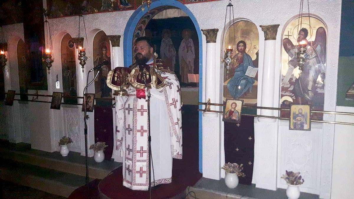Υποδοχή Τιμίας Κάρας Αγίας Μαρίνας Θεολόγος Διρφύων