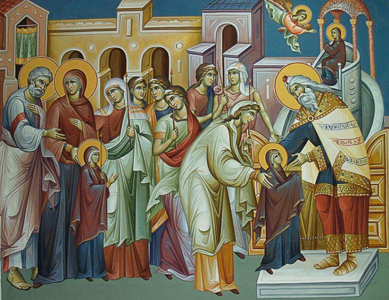 Αποτέλεσμα εικόνας για εορτη εισοδιων της θεοτοκου