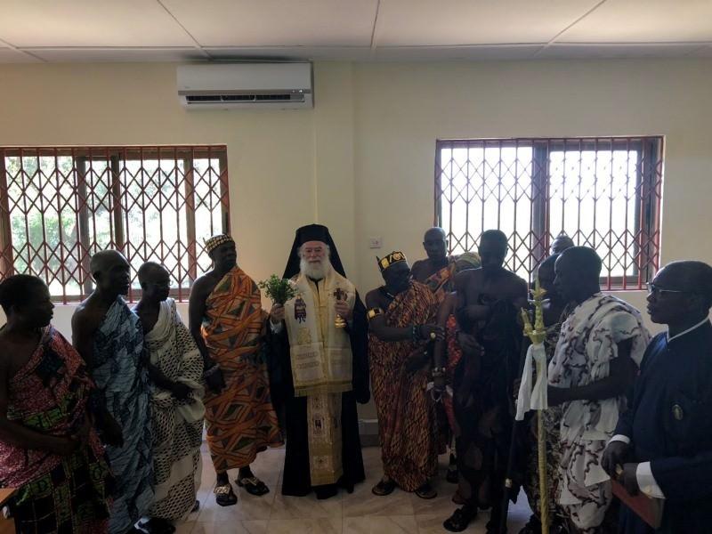 Πατριάρχης Αλεξανδρείας εγκαινιάζει Τμήμα Πληροφορικής στην Ορθόδοξη Τεχνική Σχολή στην Γκάνα