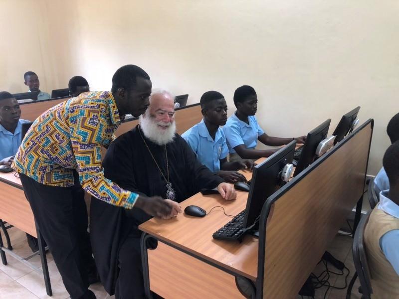 Πατριάρχης Αλεξανδρείας εγκαινιάζει Τμήμα Πληροφορικής στην Ορθόδοξη Τεχνική Σχολή Γκάνα