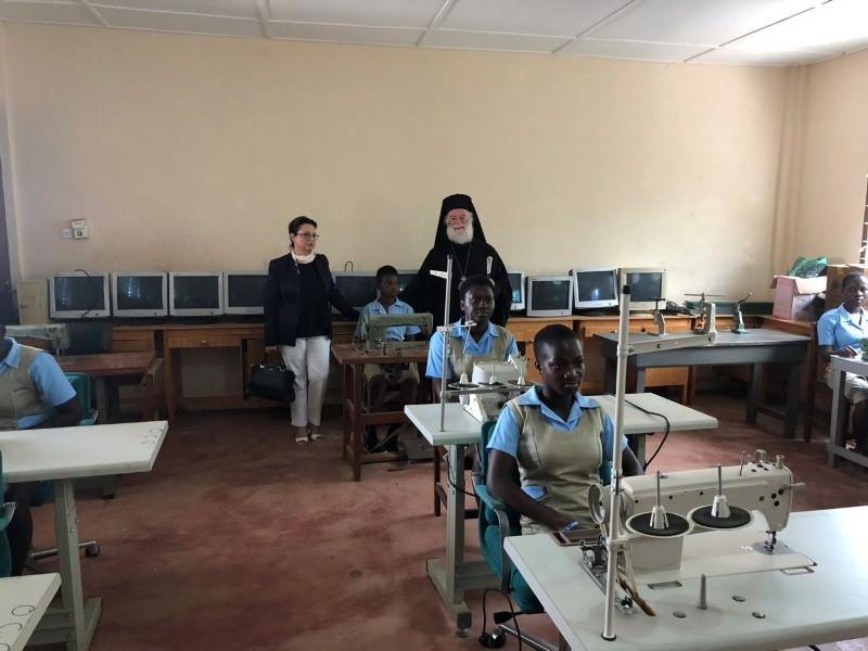 Πατριάρχης Αλεξανδρείας εγκαινιάζει Τμήμα Πληροφορικής Τεχνική Σχολή Γκάνα