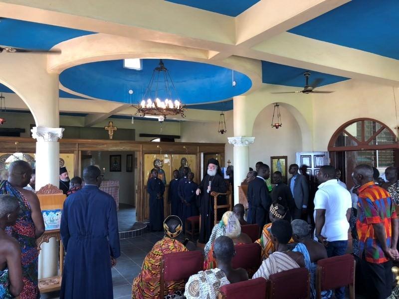 Πατριάρχης Αλεξανδρείας εγκαινιάζει Τμήμα Πληροφορικής Γκάνα