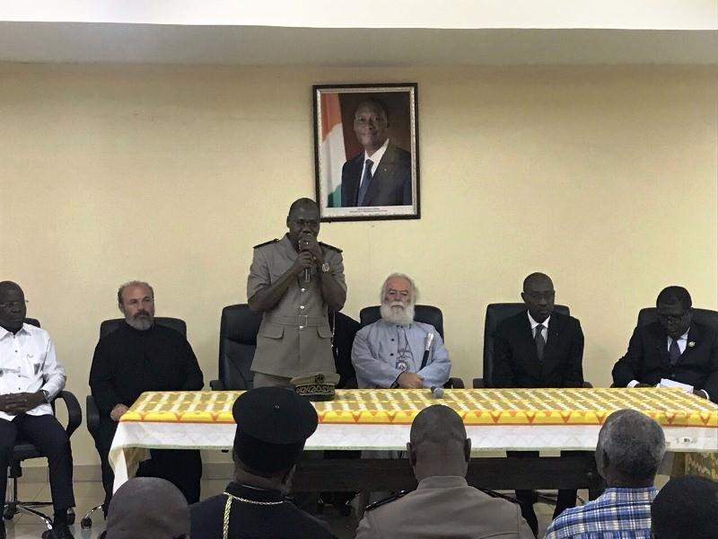 Νέο Ορθόδοξο Ιεραποστολικό Κέντρο Ακτή Ελεφαντοστού Πατριάρχης Αλεξανδρείας