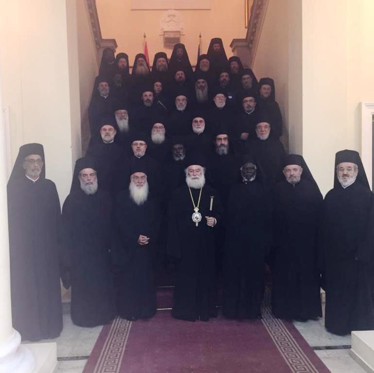 Πατριαρχείο Αλεξανδρείας Σύνοδος Νοεμβρίου