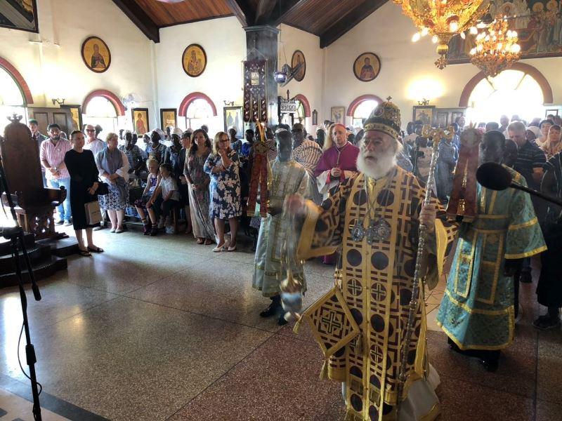 Πατριαρχείο Αλεξανδρείας Θεία Λειτουργία στην Γκάνα 2018