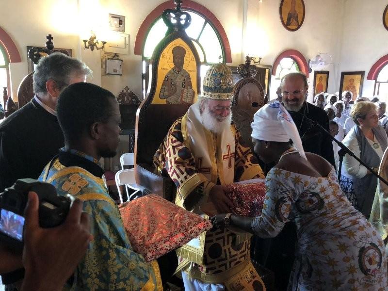 Αλεξανδρείας Θεία Λειτουργία Γκάνα