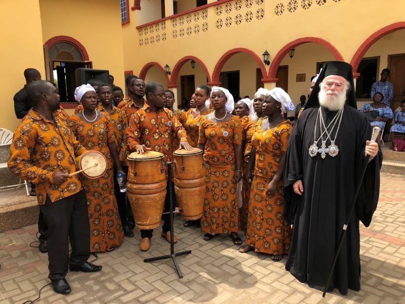 Πατριάρχης Αλεξανδρείας Θεόδωρος Θεία Λειτουργία στην Γκάνα