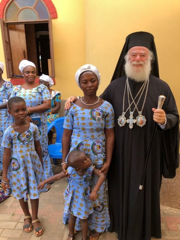 Πατριάρχης Αλεξανδρείας στην Γκάνα