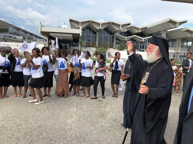 O Πατριάρχης Αλεξανδρείας Θεόδωρος στην Ακτή Ελεφαντοστού γιορτή