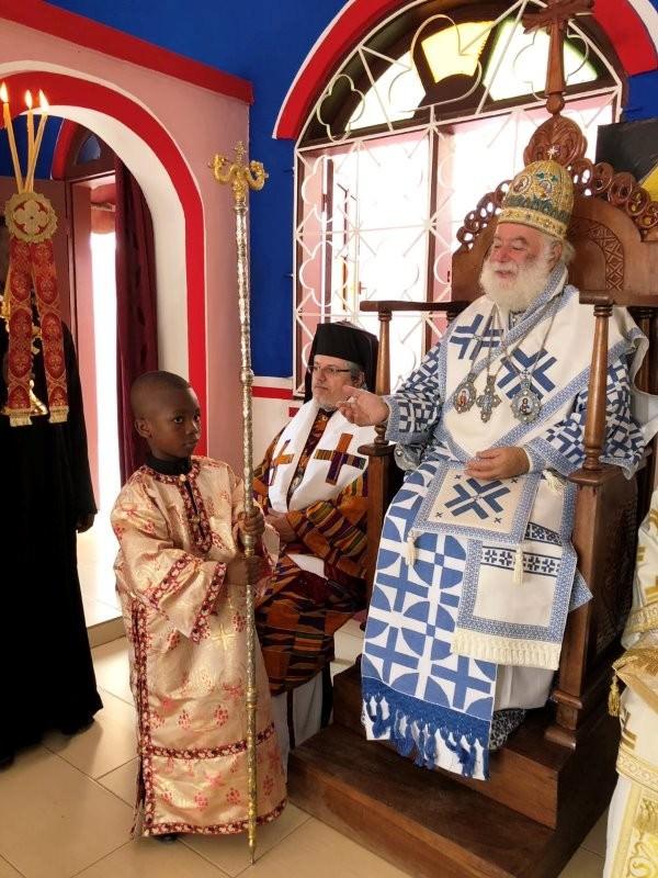Πατριάρχης Αλεξανδρείας Ακτή Ελεφαντοστού Λειτουργία