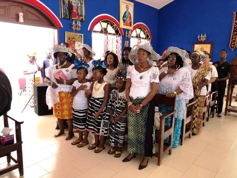 Πατριάρχης Θεόδωρος Ακτή Ελεφαντοστού Λειτουργία