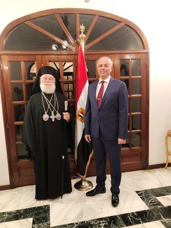 Πατριάρχης Αλεξανδρείας στο Προεδρικό Μέγαρο Ακτής Ελεφαντοστού