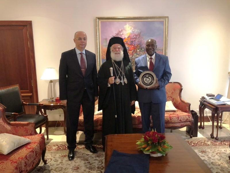 Πατριάρχης Αλεξανδρείας στο Προεδρικό Μέγαρο της Ακτής Ελεφαντοστού