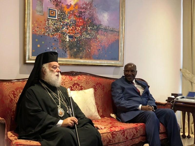 Πατριάρχης Αλεξανδρείας στο Προεδρικό Ακτής Ελεφαντοστού
