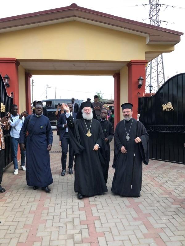 O Πατριάρχης Αλεξάνδρειας στη Γκάνα της Δυτικής Αφρικής