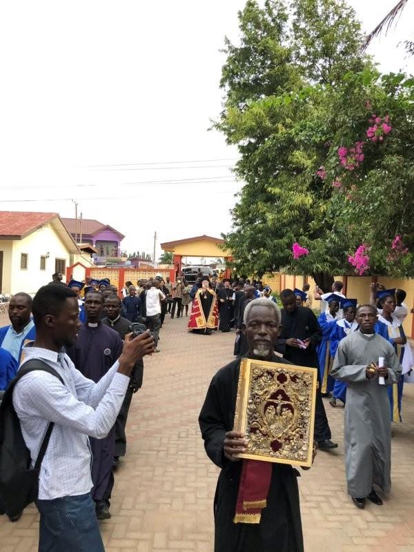 Πατριάρχης Αλεξάνδρειας Θεόδωρος στη Γκάνα της Δυτικής Αφρικής