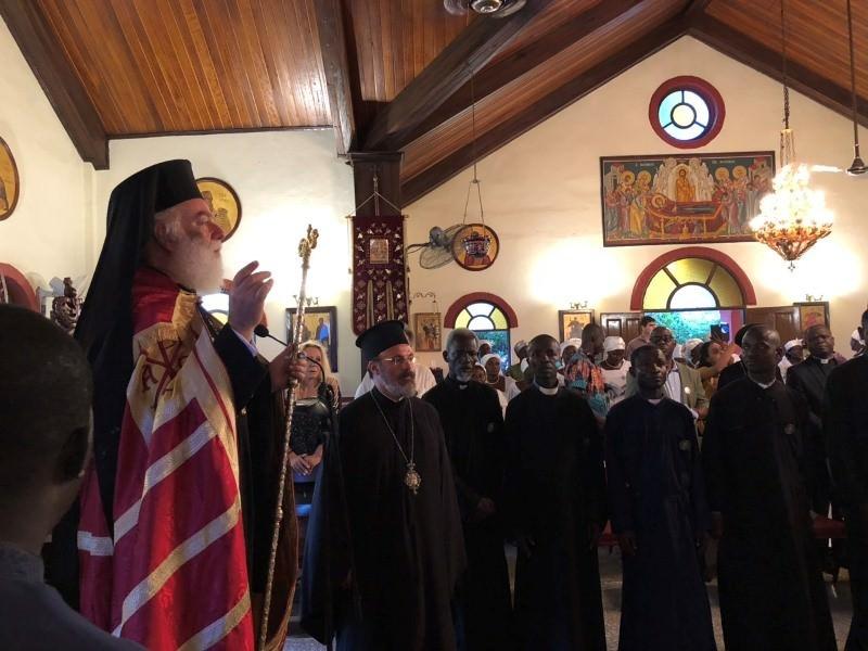 Πατριάρχης Θεόδωρος Δυτική Αφρική