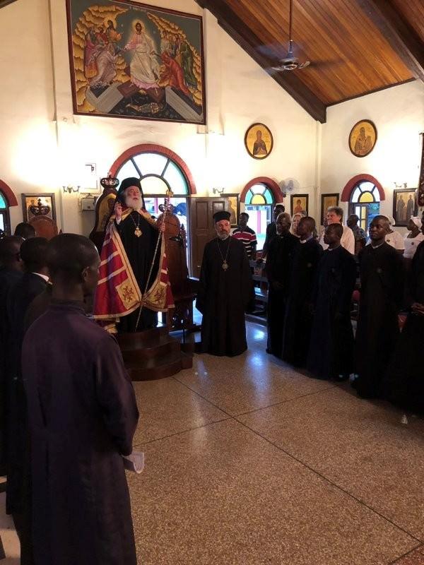 Πατριάρχης Θεόδωρος στη Γκάνα