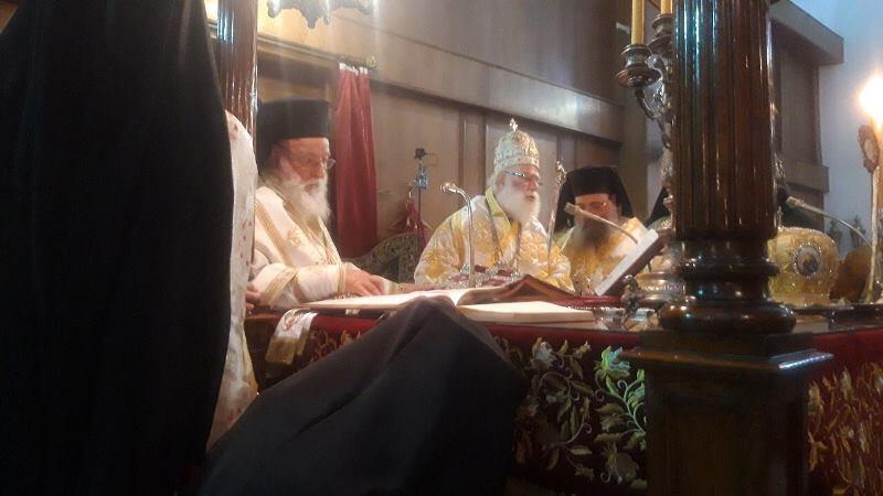 Πατριαρχείο Αλεξανδρείας εορτή Αγίου Νικολάου