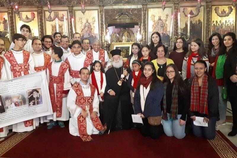 Πατριαρχείο Αλεξανδρείας Χριστούγεννα 2018