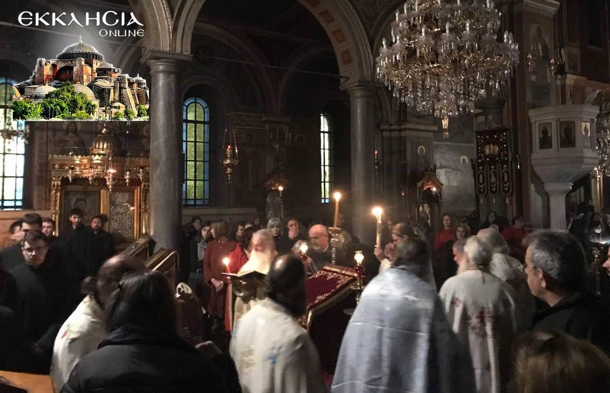 Βουβό Συλλαλητήριο πλήθος πιστών στην Προσευχή για Μακεδονία