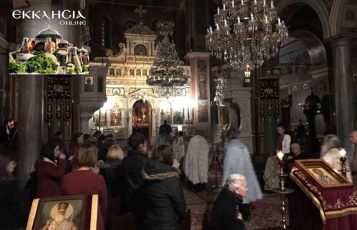 Βουβό Συλλαλητήριο πιστών Προσευχή Μακεδονία Μαρούσι