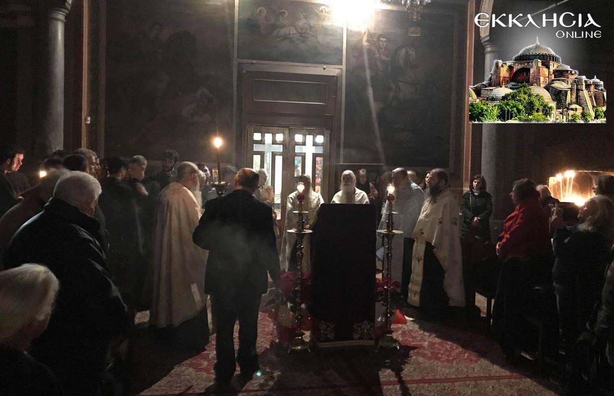 Βουβό Συλλαλητήριο από ΕΚΚΛΗΣΙΑ Online και πλήθος πιστών στην Προσευχή Μακεδονία