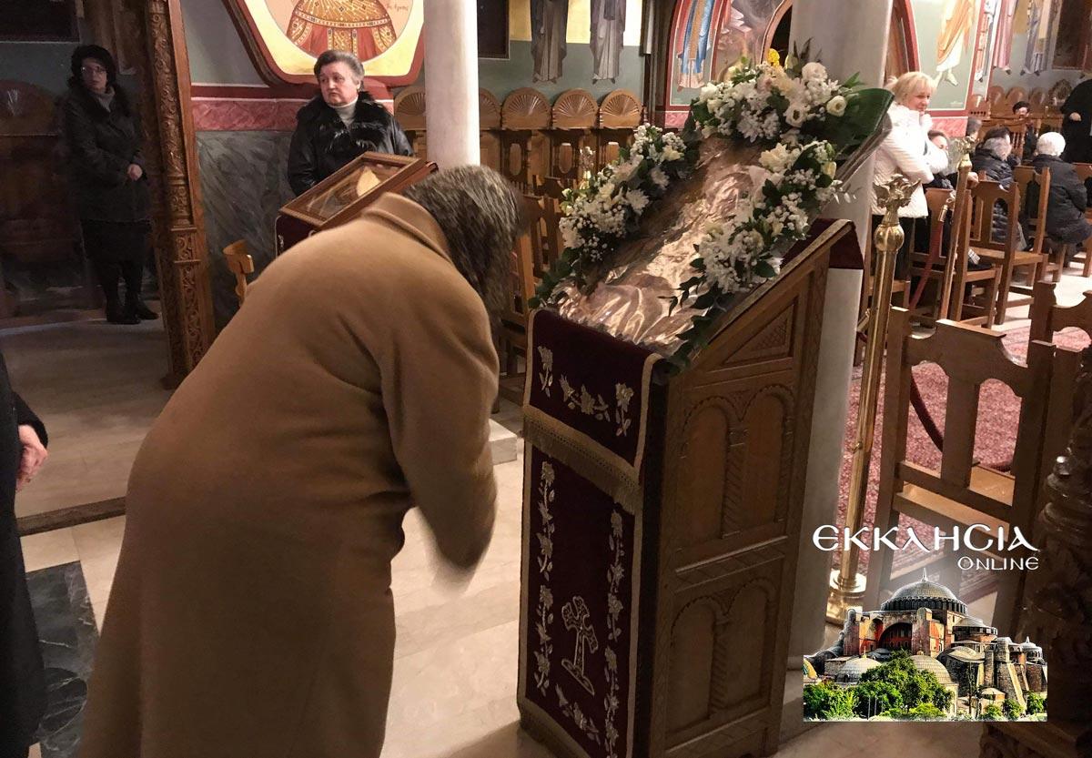 Αγία Κυράννα Λαγκαδά Θεσσαλονίκη Ιερά Αγρυπνία 2019