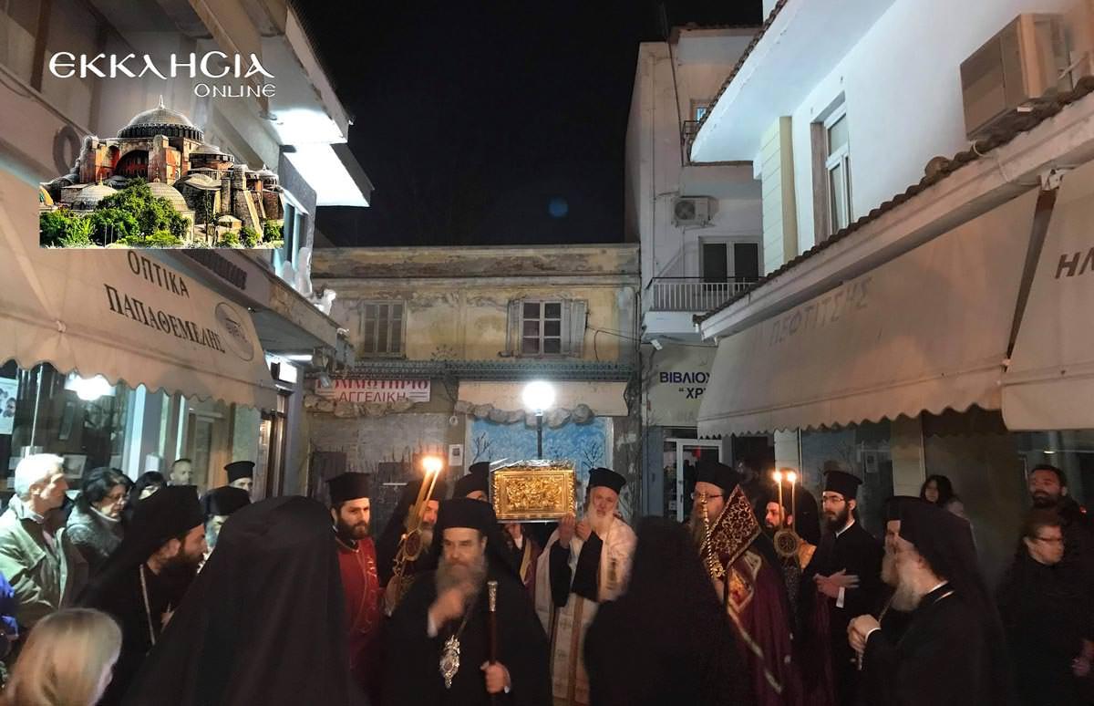 Αγία Κυράννα Λαγκαδά Θεσσαλονίκη Αγρυπνία 2019