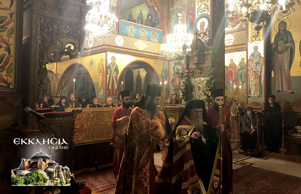 Αγία Κυράννα Λαγκαδά Ιερά Αγρυπνία