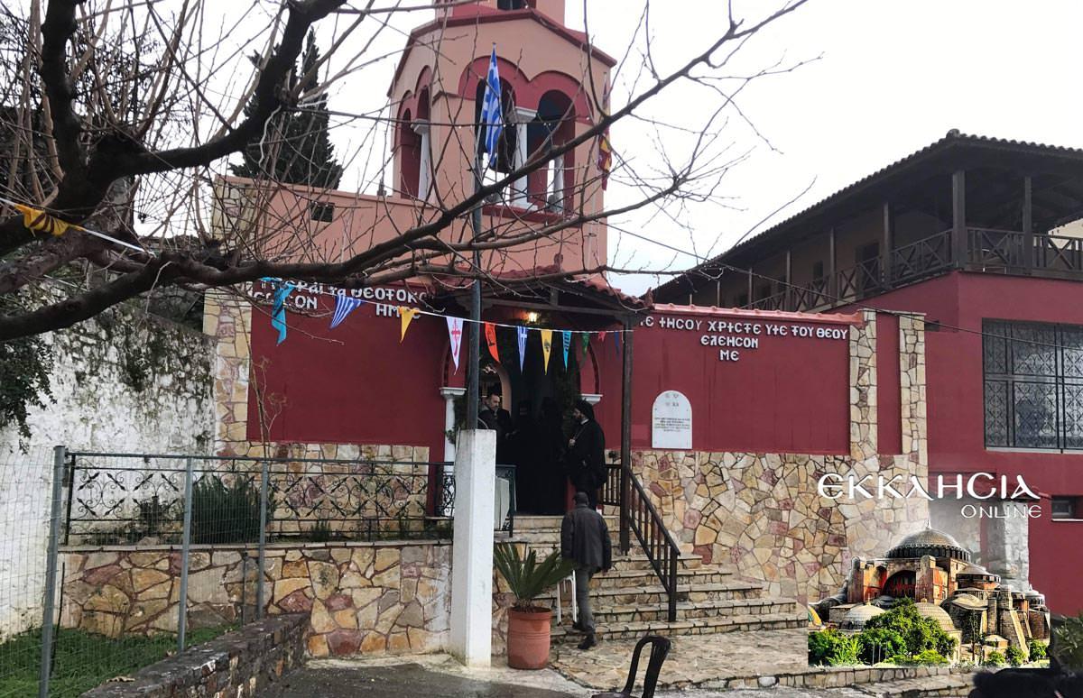 Άγιος Παρθένιος μοναστήρι Μακρυμάλλη Εύβοια Τίμια Κάρα Προσκύνημα 2019