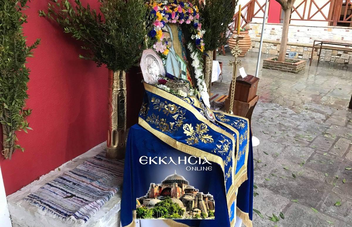 Άγιος Παρθένιος Τίμια Κάρα
