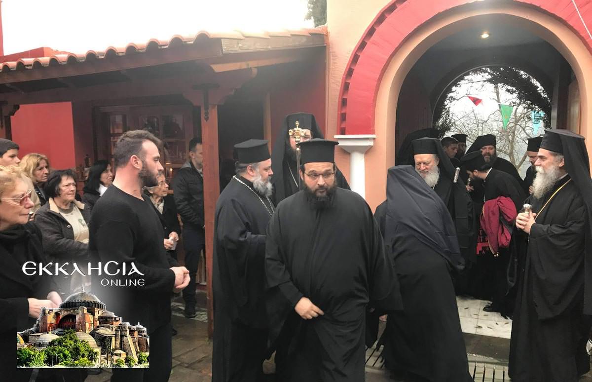 Άγιος Παρθένιος μοναστήρι Μακρυμάλλη Προσκύνημα 2019