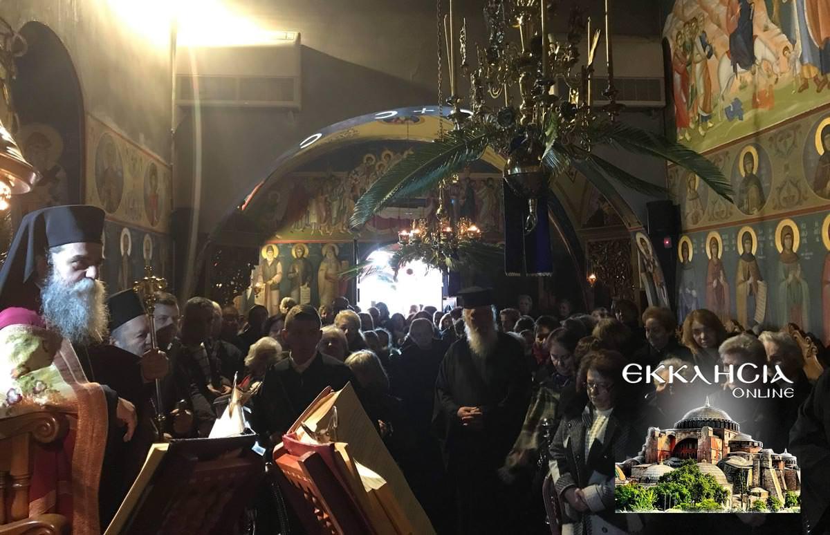 Άγιος Παρθένιος μοναστήρι Μακρυμάλλη Εύβοια 2019