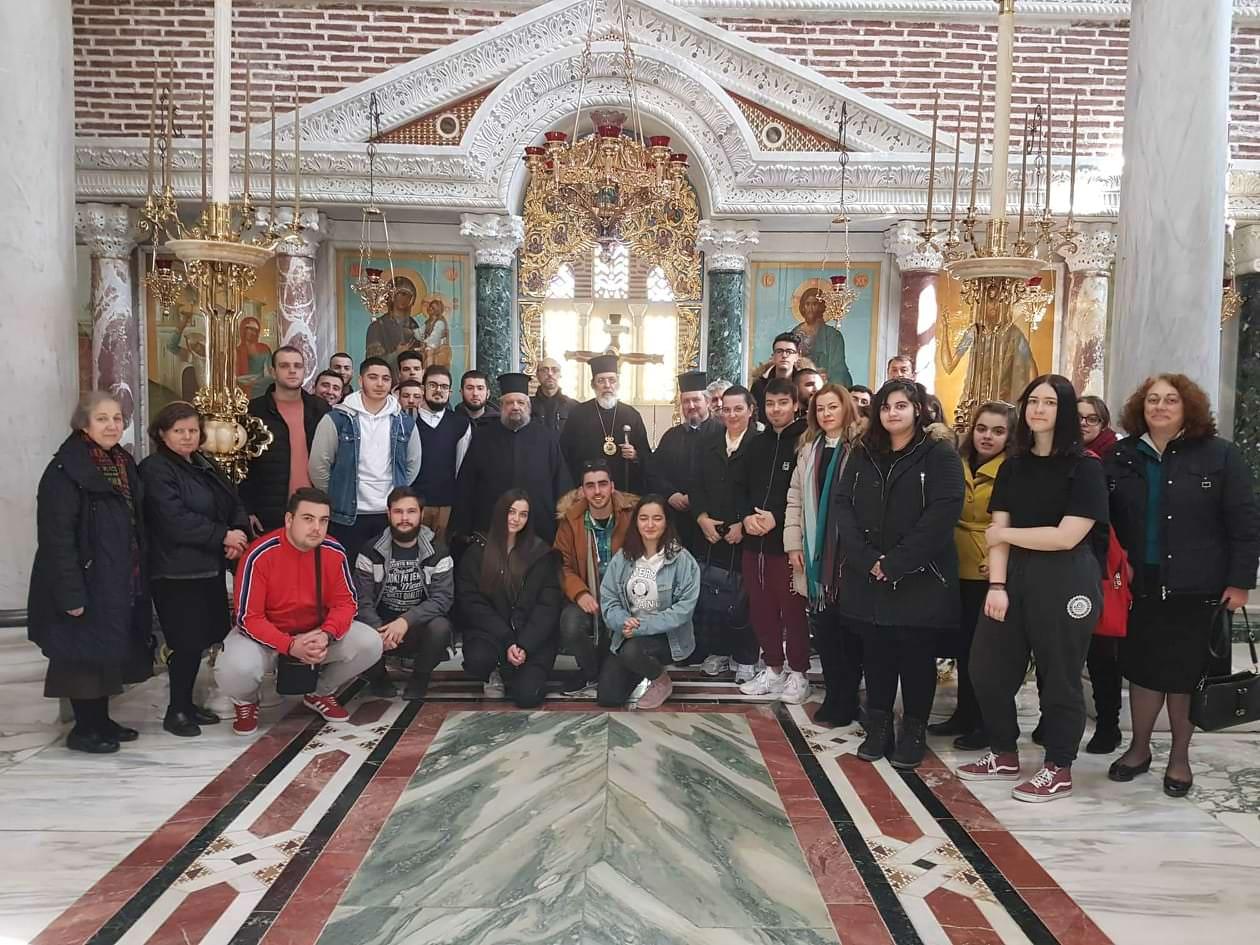 Επίσκεψη από Εκκλησιαστικό Λύκειο Νεάπολης στη Μητρόπολη Σιδηροκάστρου