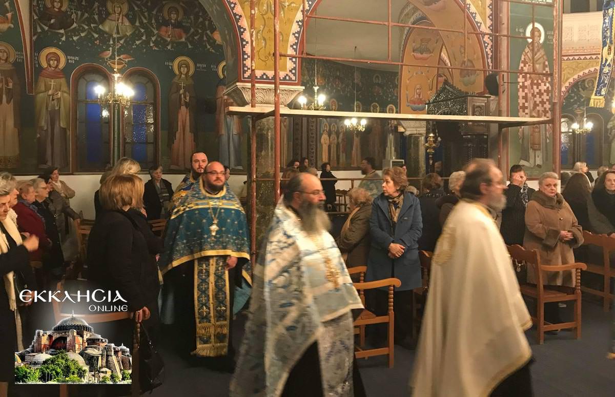 Ευαγγελισμός της Θεοτόκου στον Ιερό Ναό Ευαγγελιστρίας Ερυθραίας 2019