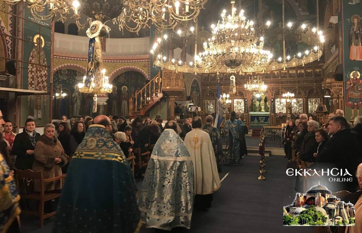 Ευαγγελισμός της Θεοτόκου στον Ιερό Ναό Ευαγγελιστρίας Ερυθραίας