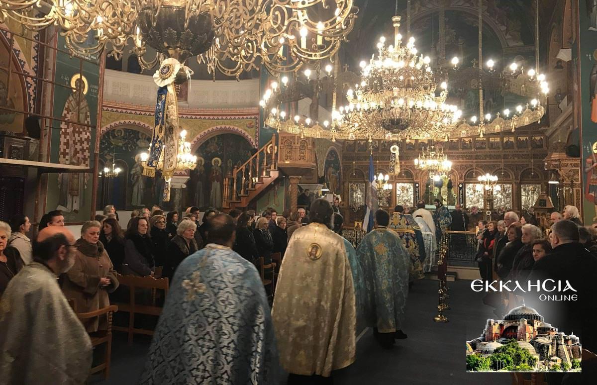 Ευαγγελισμός της Θεοτόκου στον Ιερό Ναό Ευαγγελιστρίας 2019