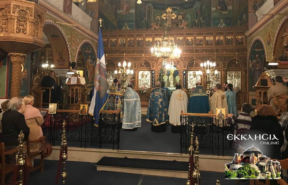 25η Μαρτίου και Ευαγγελισμός της Θεοτόκου στον Ναό Ευαγγελιστρίας