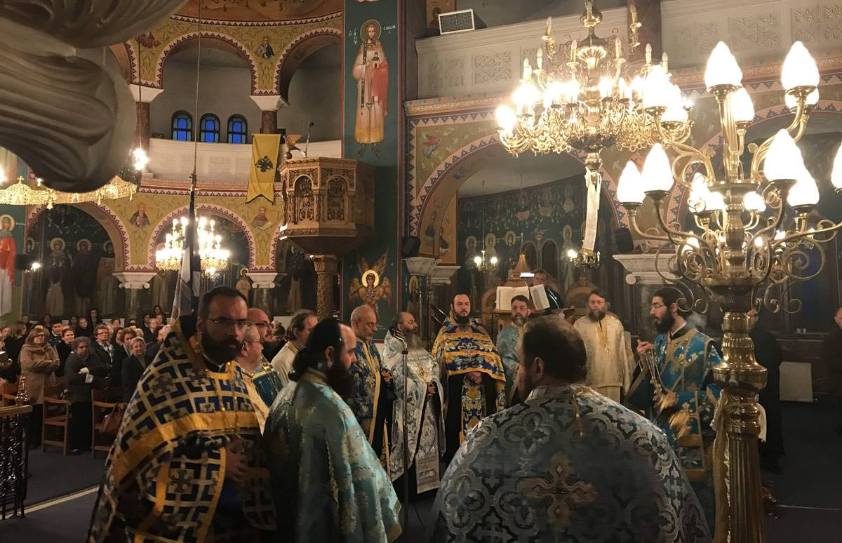 25η Μαρτίου στον Ιερό Ναό Ευαγγελιστρίας Ερυθραίας