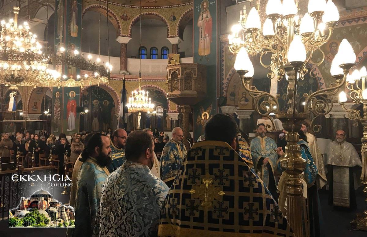 25η Μαρτίου στον Ναό Ευαγγελιστρίας